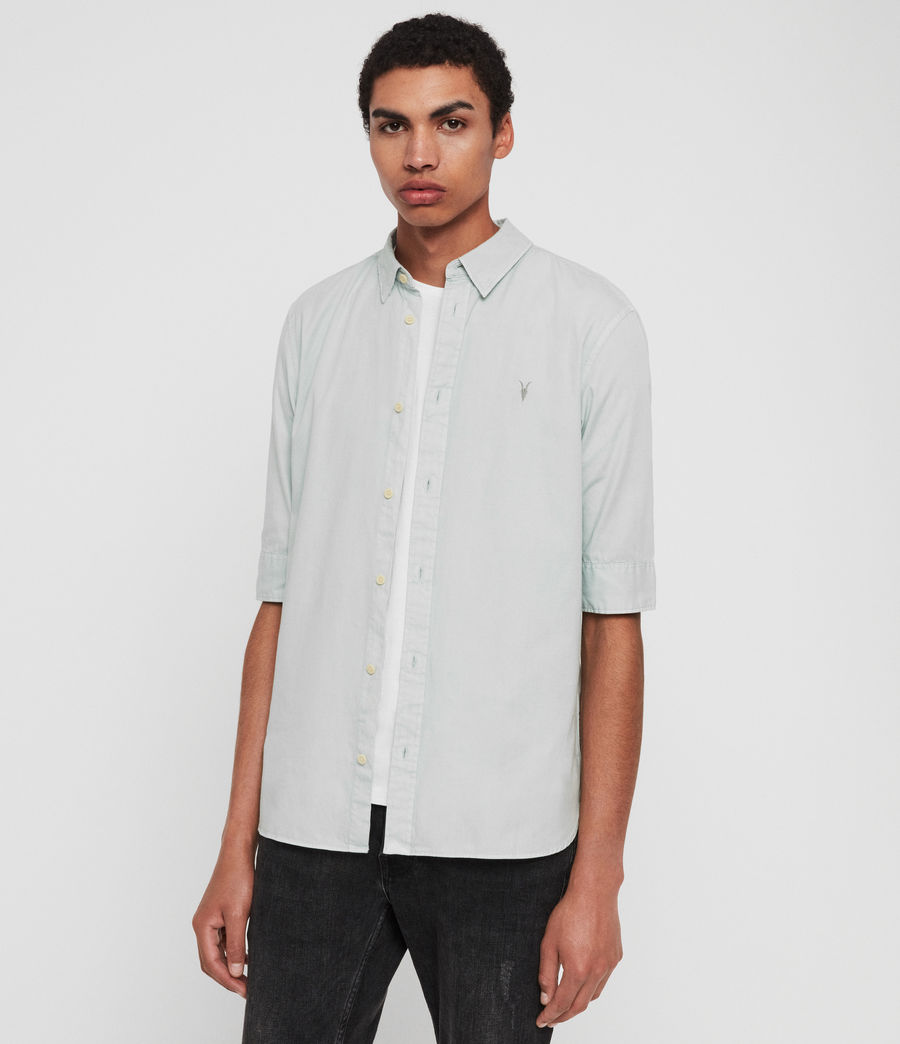 Mens Redondo Half-Sleeve Shirt (menthe_green) - Image 1