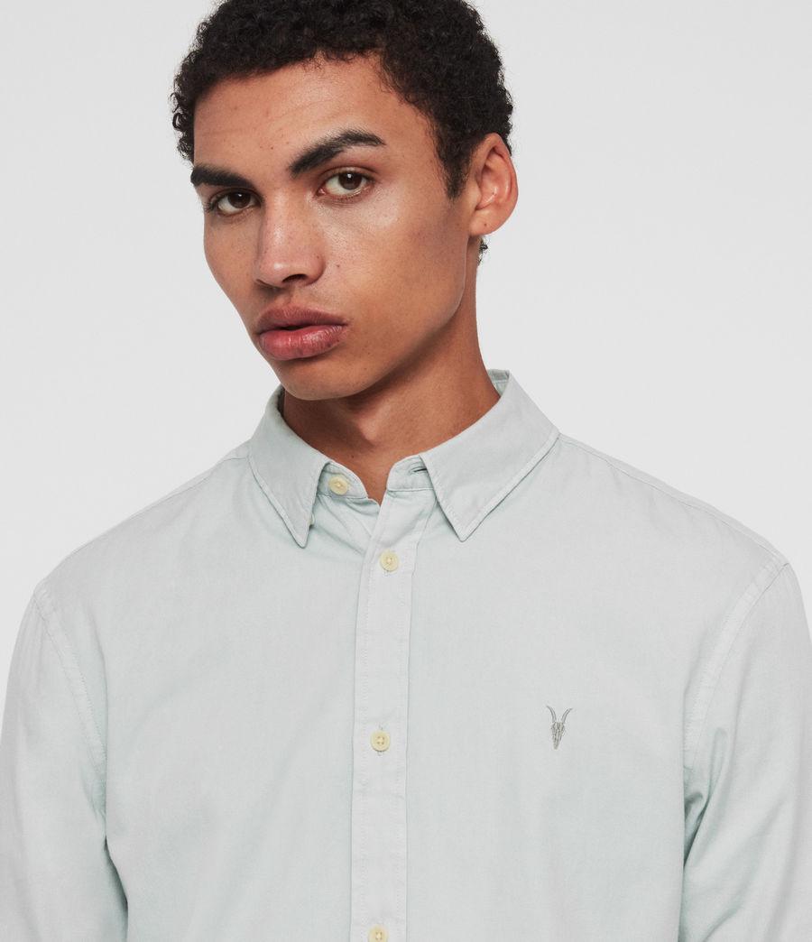 Mens Redondo Half-Sleeve Shirt (menthe_green) - Image 2