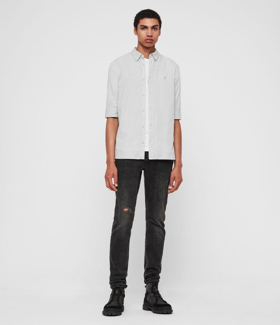 Mens Redondo Half-Sleeve Shirt (menthe_green) - Image 3