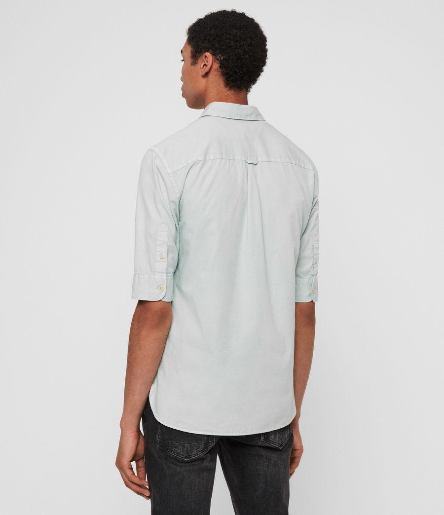 Mens Redondo Half-Sleeve Shirt (menthe_green) - Image 4