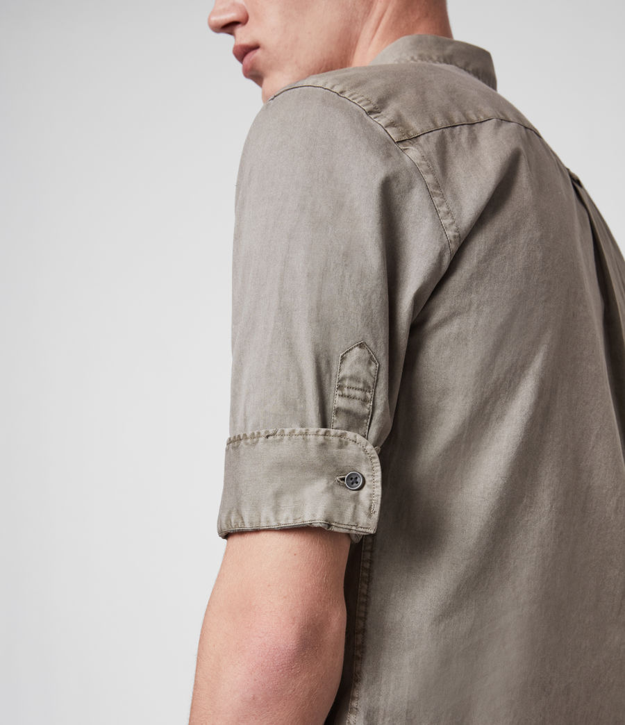 Mens Redondo Half-Sleeve Shirt (tile_grey) - Image 4
