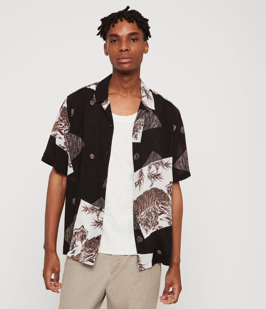 Men's Hakone Shirt (jet_black) - Image 1