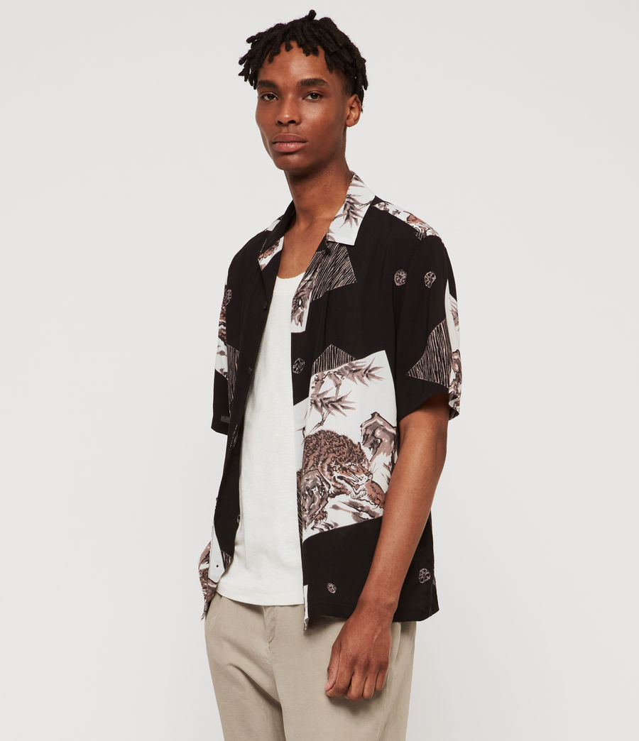 Men's Hakone Shirt (jet_black) - Image 5