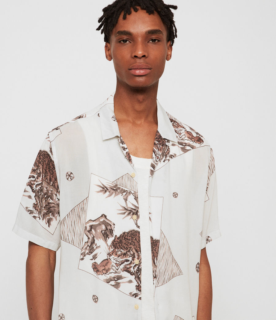Men's Hakone Shirt (grey) - Image 2