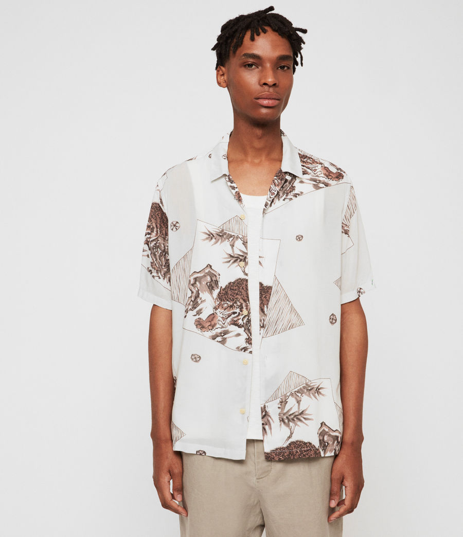 Men's Hakone Shirt (grey) - Image 3
