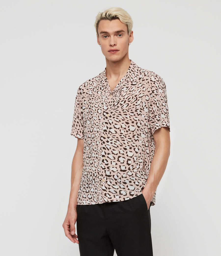 Men's Amur Shirt (pink) - Image 1