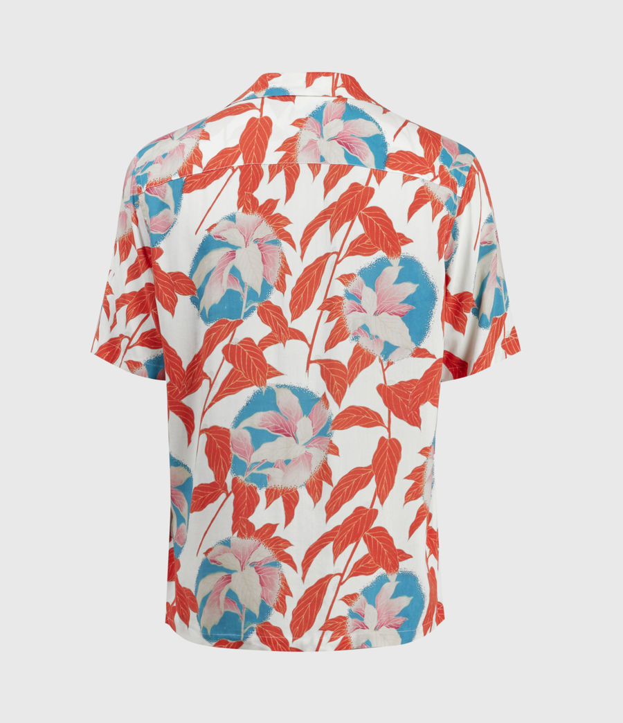 Mens Vine Shirt (white) - Image 2