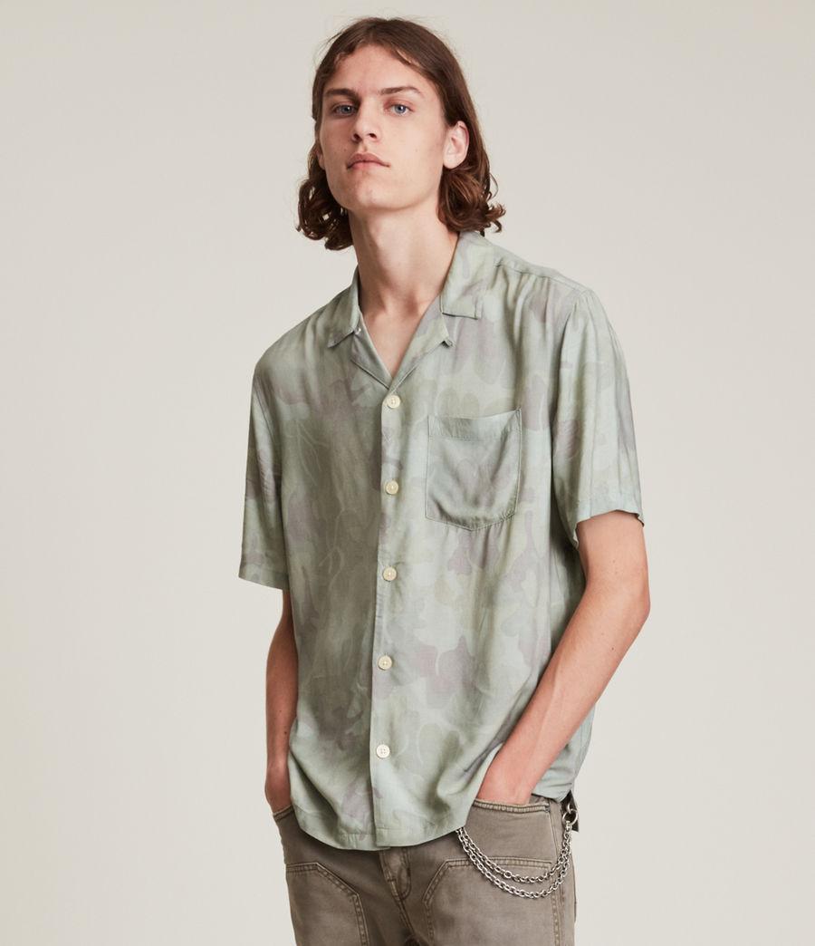 Mens Arboretum Shirt (mellow_green) - Image 1