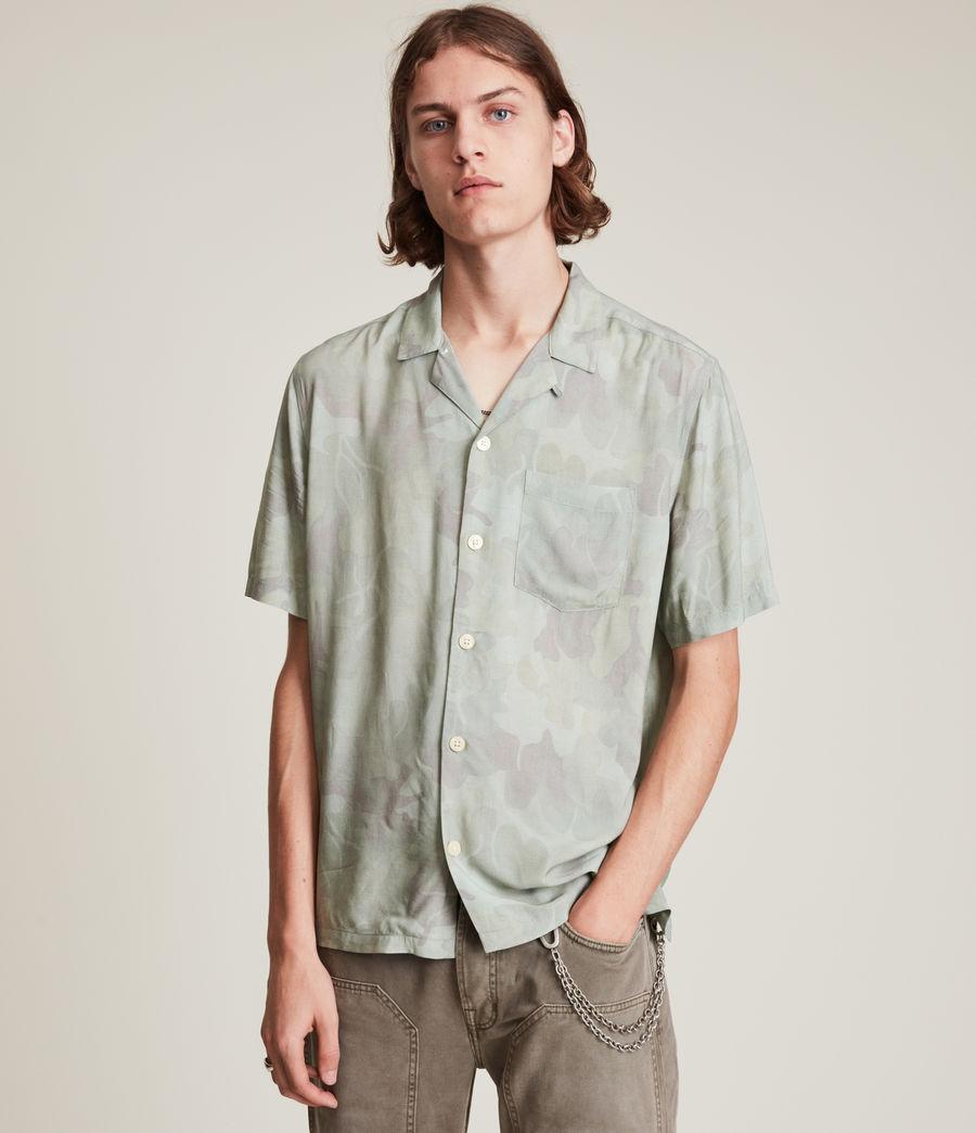 Mens Arboretum Shirt (mellow_green) - Image 4