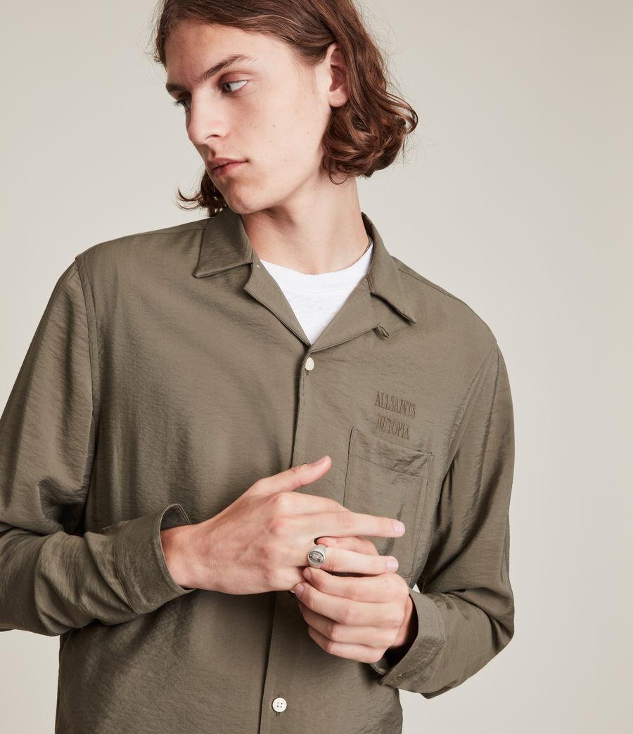 Herren Commune Shirt (nettle_green) - Image 3