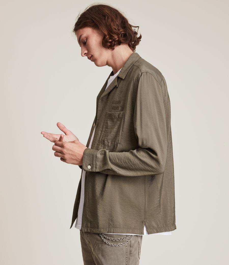 Herren Commune Shirt (nettle_green) - Image 4