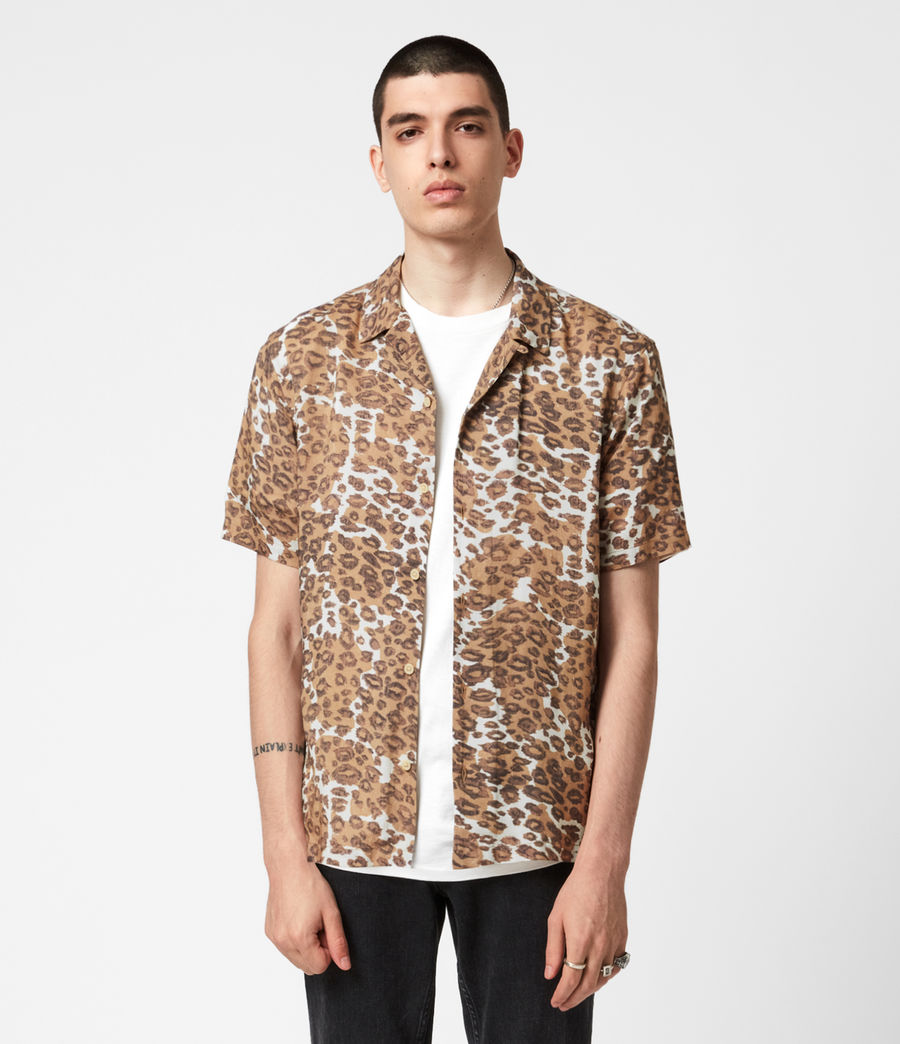 Mens Can Tho Shirt (ecru) - Image 1