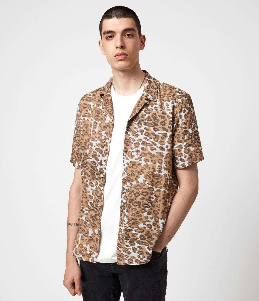 Mens Can Tho Shirt (ecru) - Image 4