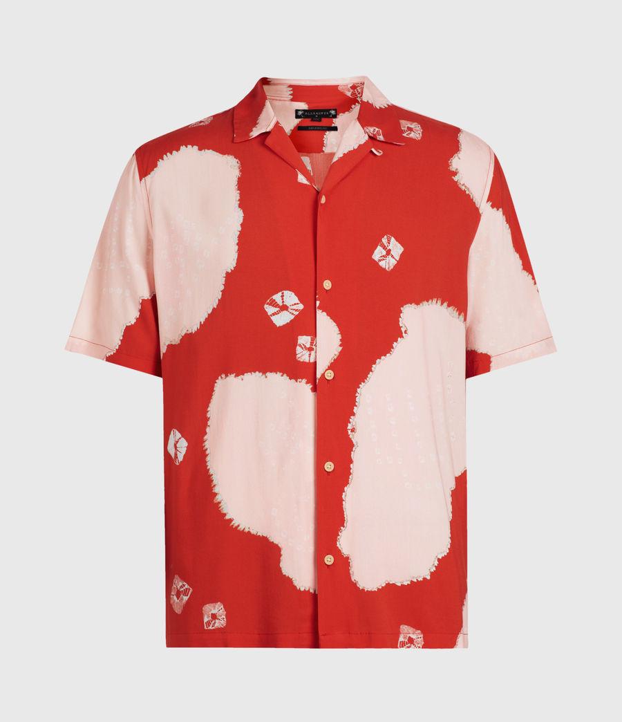 Hommes Chemise Hawaïenne Nimbus (acer_red) - Image 1