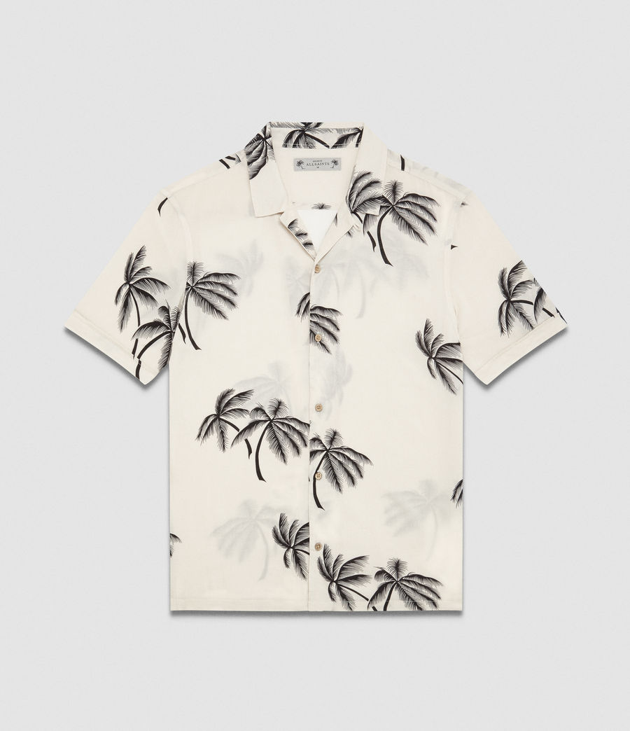 Men's Offshore Hawaiian Shirt (ecru) - Image 7