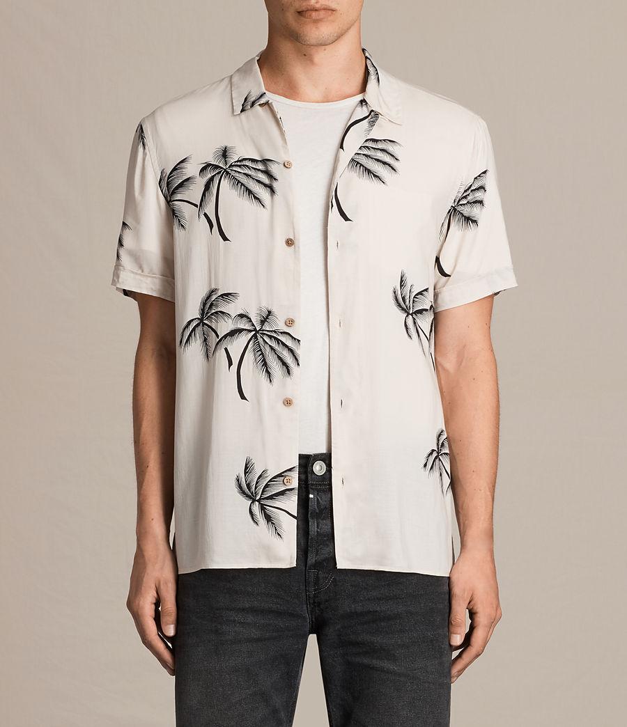Hombre Camisa de manga corta Offshore (ecru_white) - Image 1