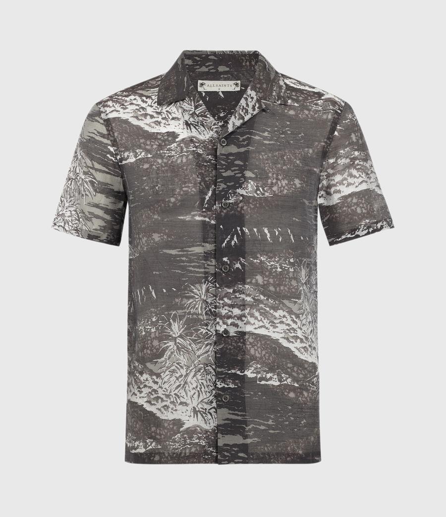 Herren Castaway Shirt (black_grey) - Image 2