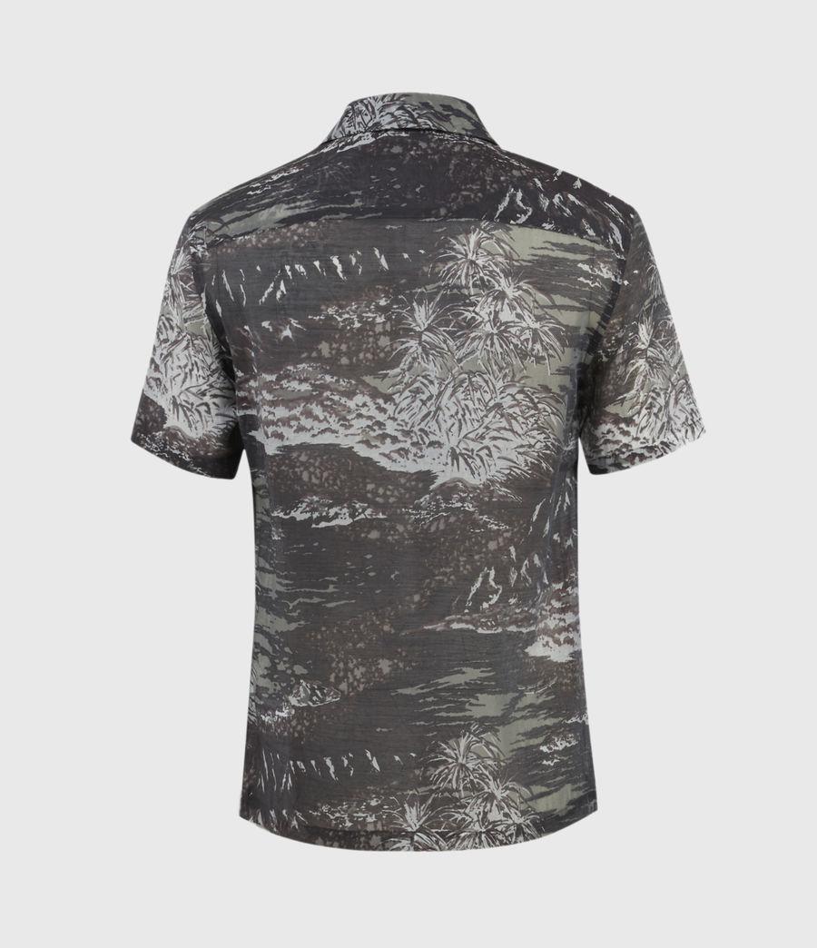 Herren Castaway Shirt (black_grey) - Image 3