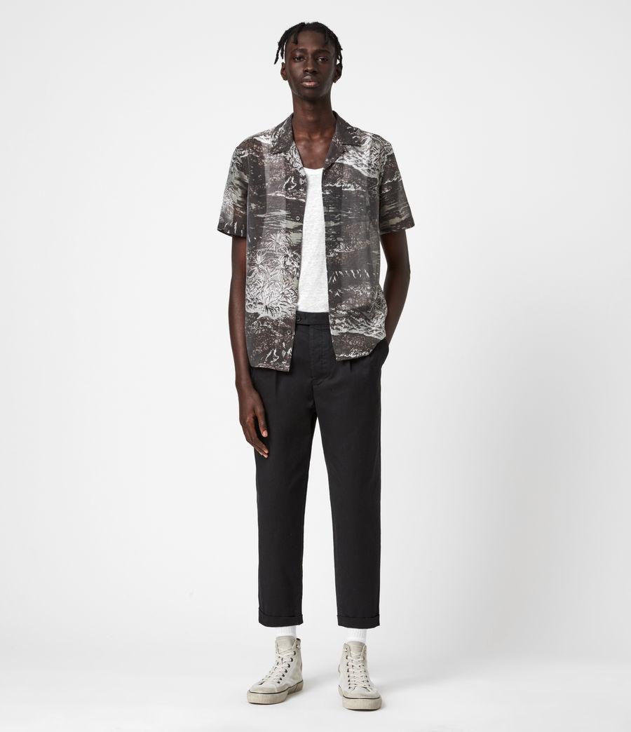 Men's Castaway Shirt (black_grey) - Image 4