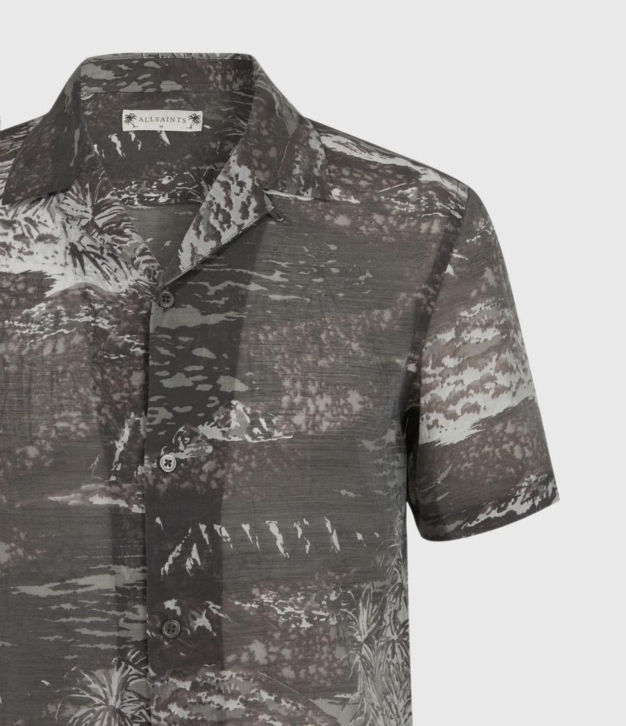 Men's Castaway Shirt (black_grey) - Image 5