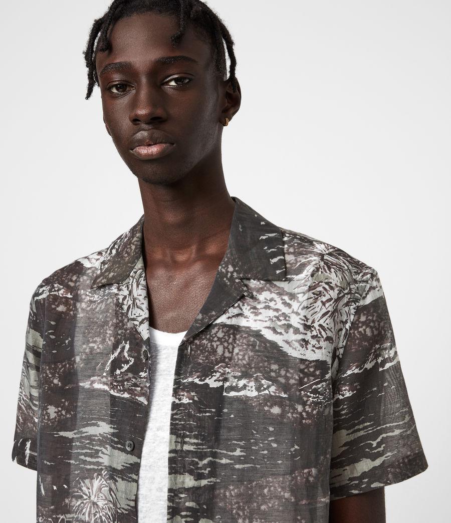 Men's Castaway Shirt (black_grey) - Image 6