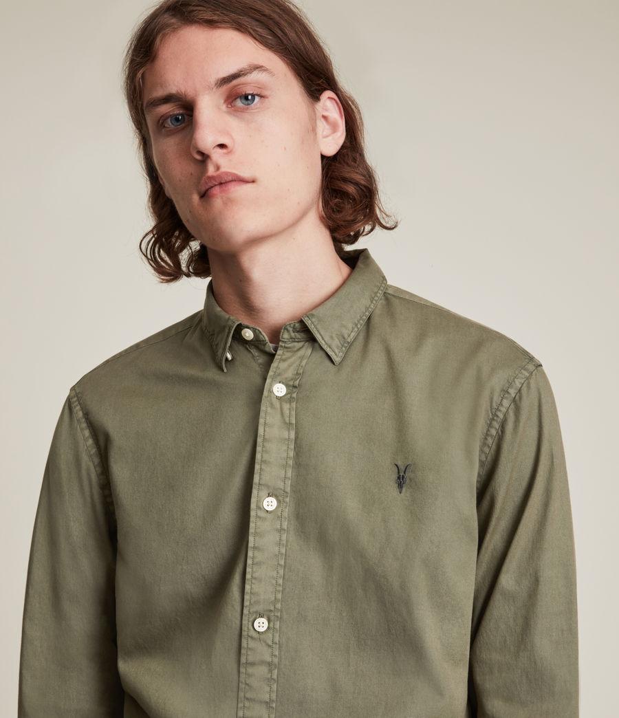 Men's Hawthorne Shirt (nettle_green) - Image 2