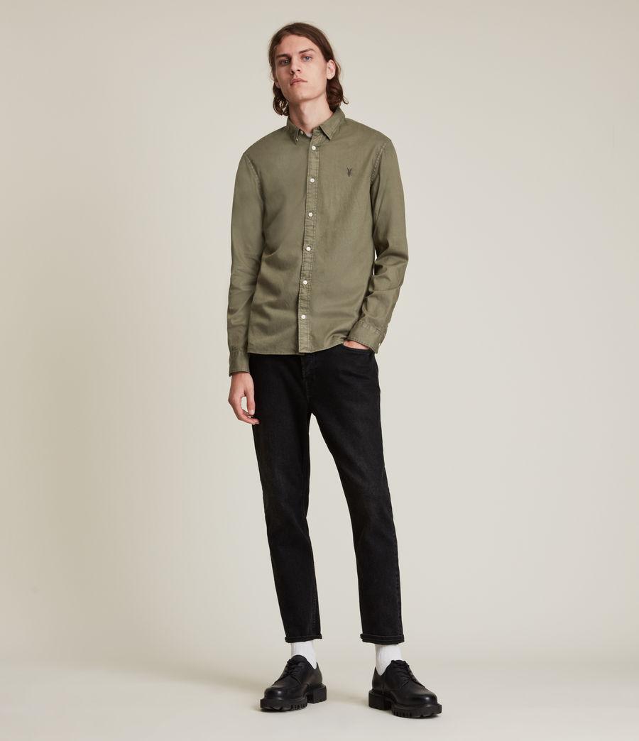 Men's Hawthorne Shirt (nettle_green) - Image 3