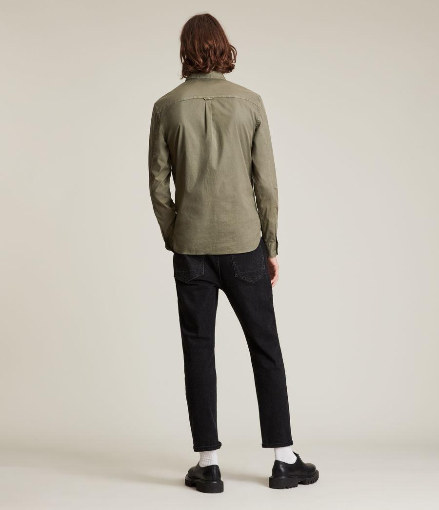 Men's Hawthorne Shirt (nettle_green) - Image 4