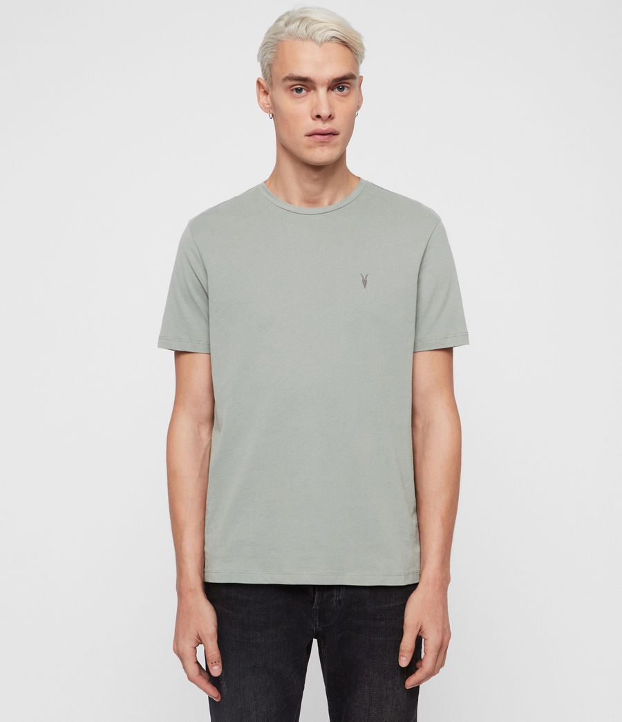 Herren Brace Short Sleeve Crew T-Shirt (mint_green) - Image 1