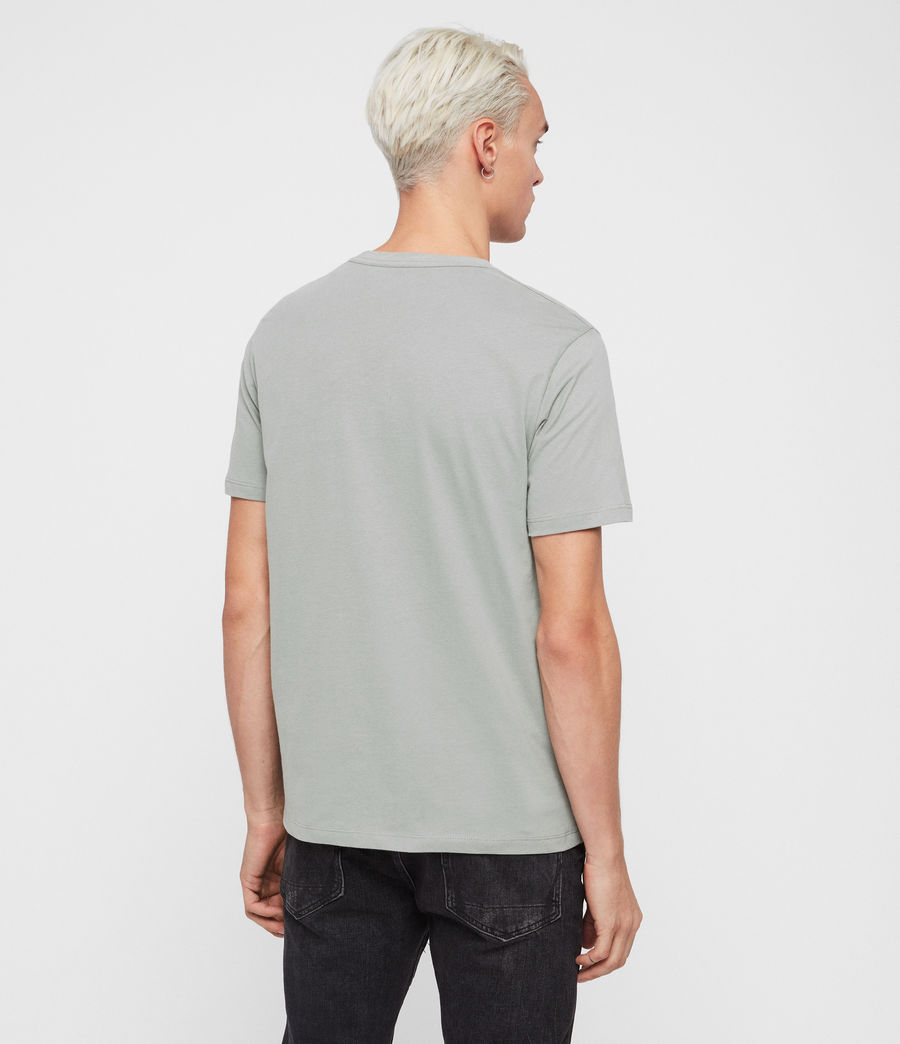 Herren Brace Short Sleeve Crew T-Shirt (mint_green) - Image 5