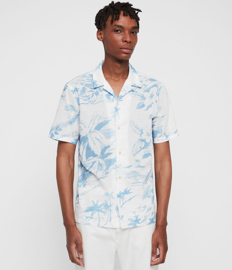 Men's Seabreeze Shirt (white) - Image 1