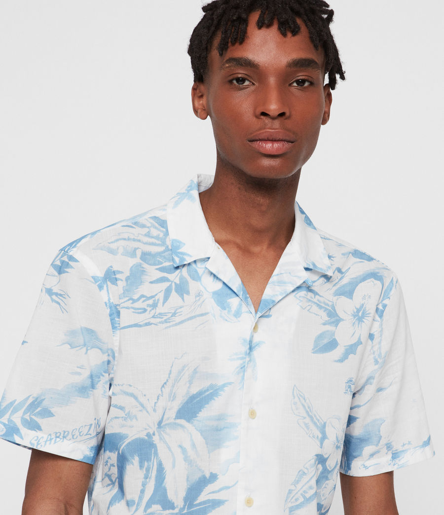 Men's Seabreeze Shirt (white) - Image 2