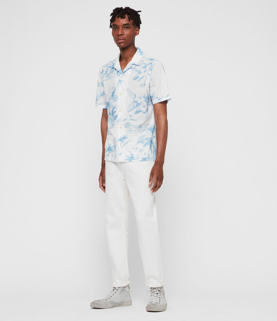 Men's Seabreeze Shirt (white) - Image 3