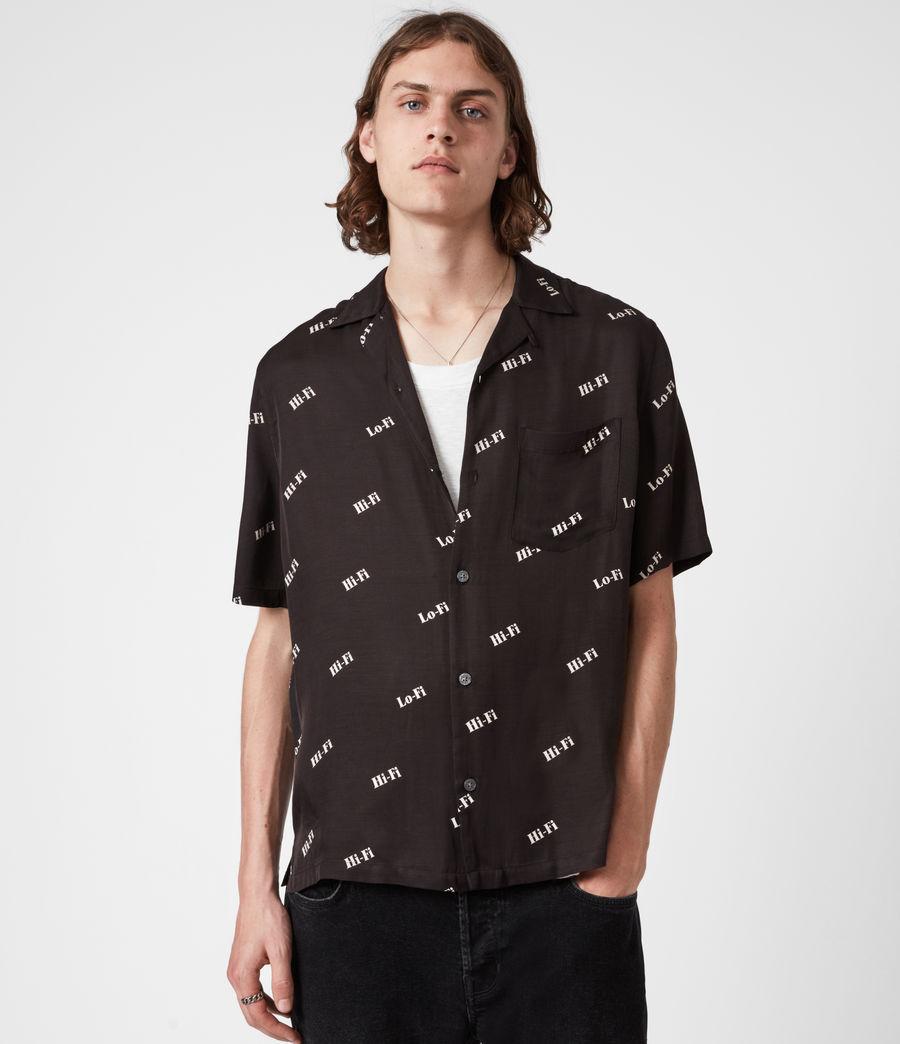 Men's Lo-fi Shirt (jet_black) - Image 1