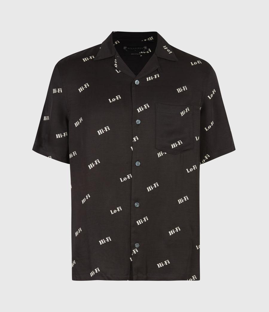 Men's Lo-fi Shirt (jet_black) - Image 2