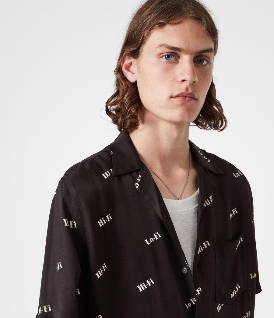 Men's Lo-fi Shirt (jet_black) - Image 4