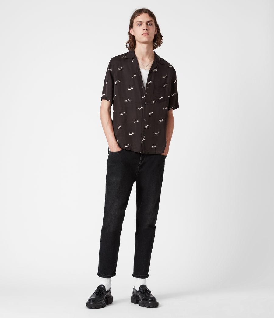 Men's Lo-fi Shirt (jet_black) - Image 5
