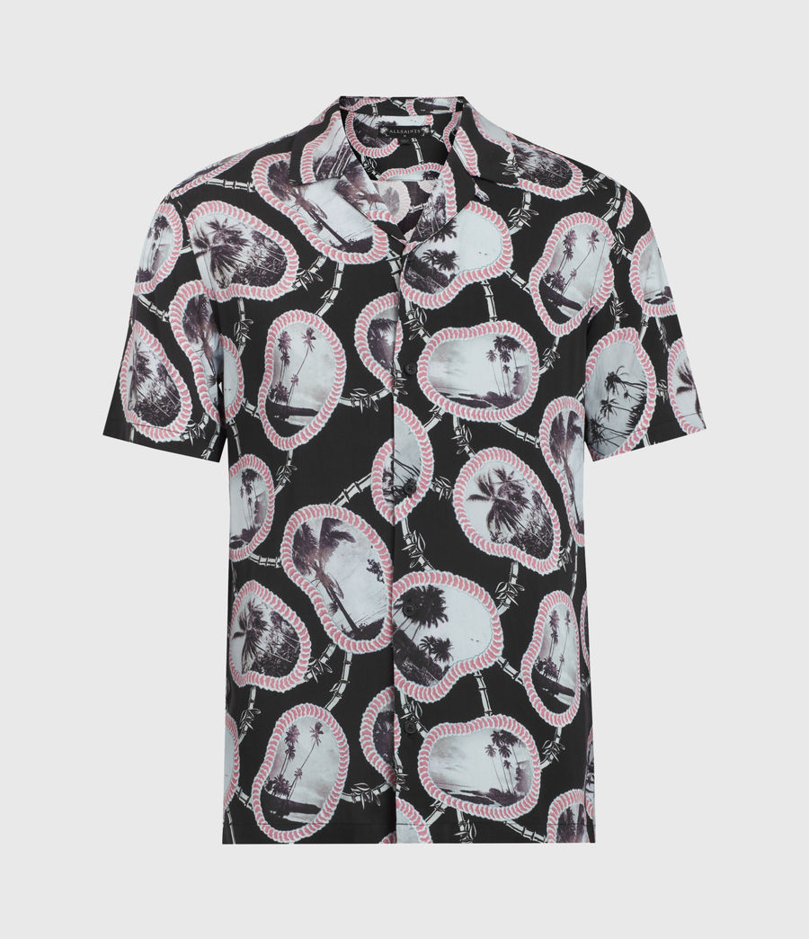 Men's Islandz Shirt (jet_black) - Image 2