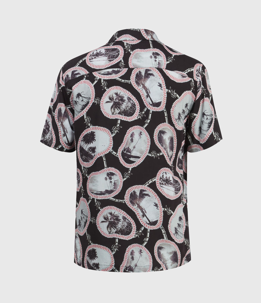 Men's Islandz Shirt (jet_black) - Image 3