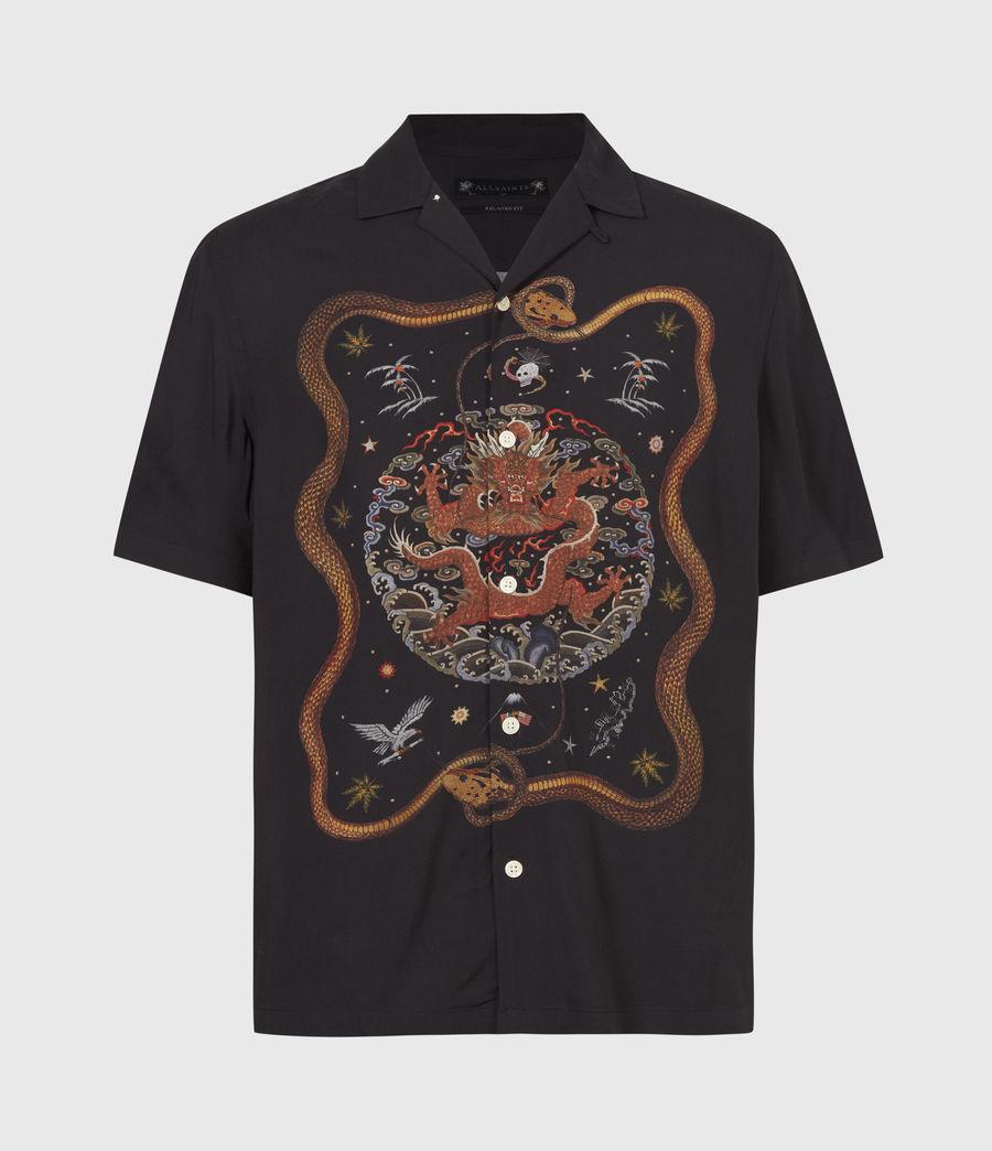 Men's Psychadelia Shirt (jet_black) - Image 2