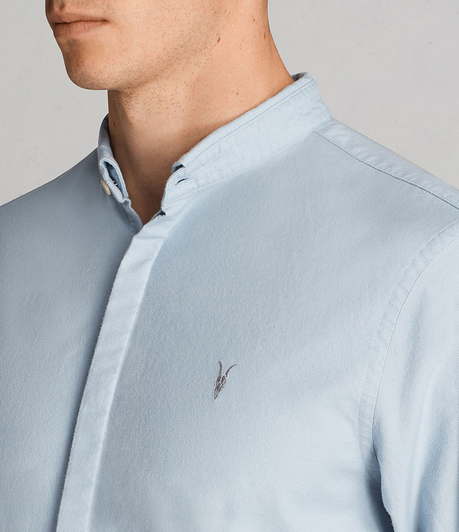 Hombres Camisa Augusta (sky_blue) - Image 2