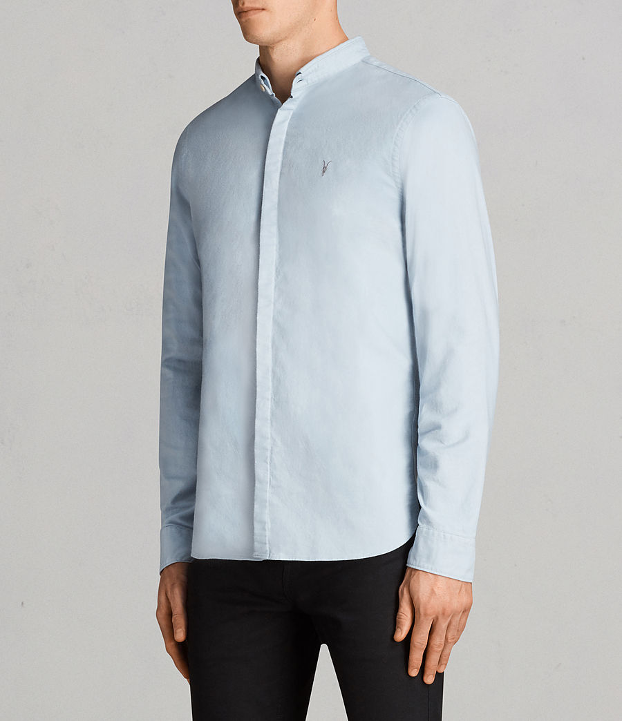 Hombres Camisa Augusta (sky_blue) - Image 3