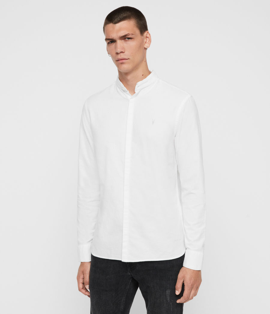 Mens Augusta Shirt (optic_white) - Image 4