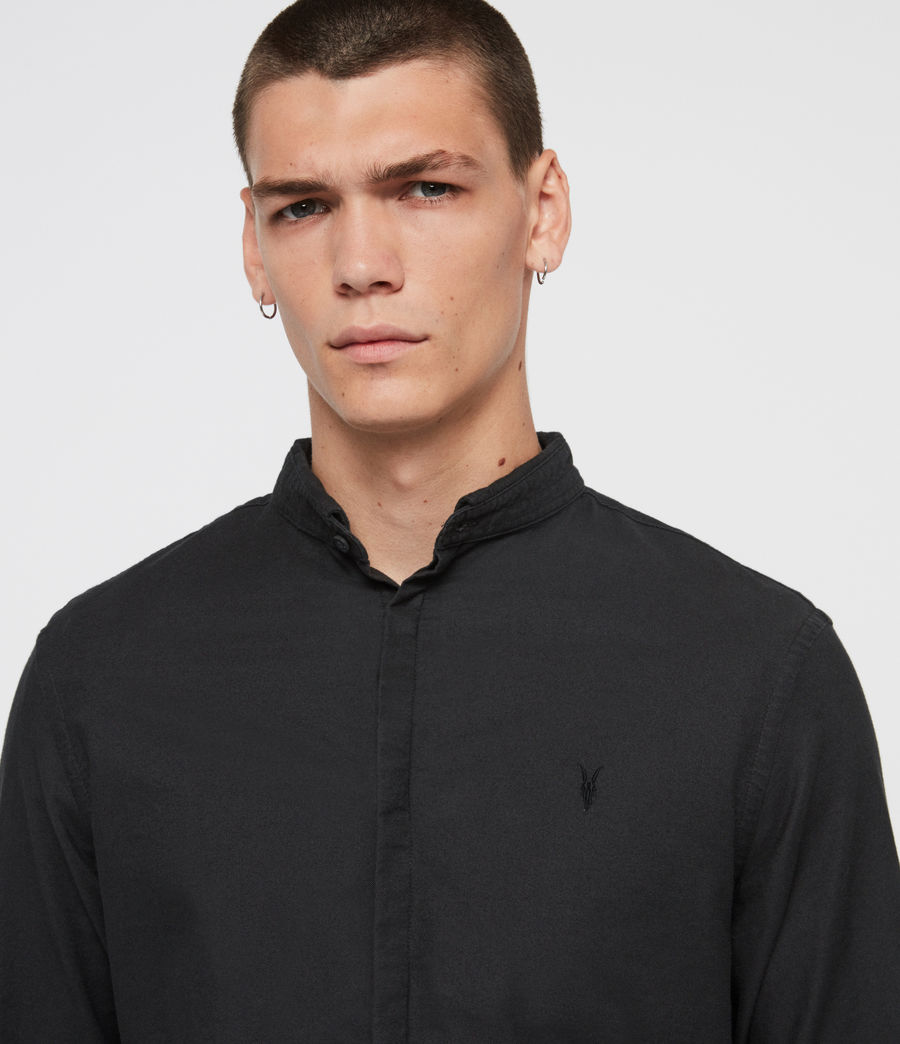 Mens Augusta Shirt (black) - Image 2