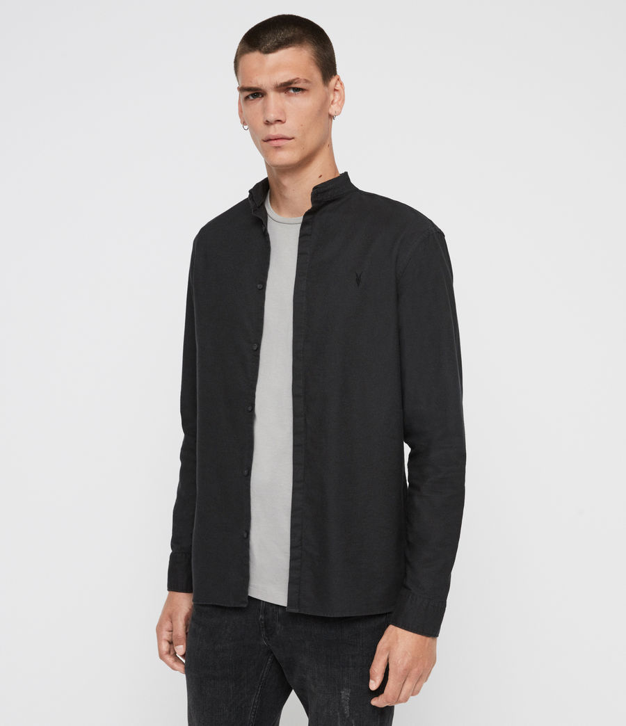Hombres Camisa Augusta (black) - Image 5