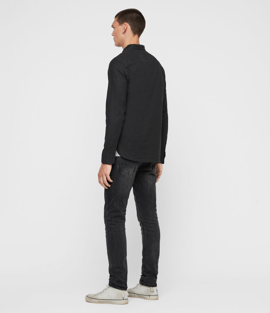 Men's Augusta Shirt (black) - Image 6