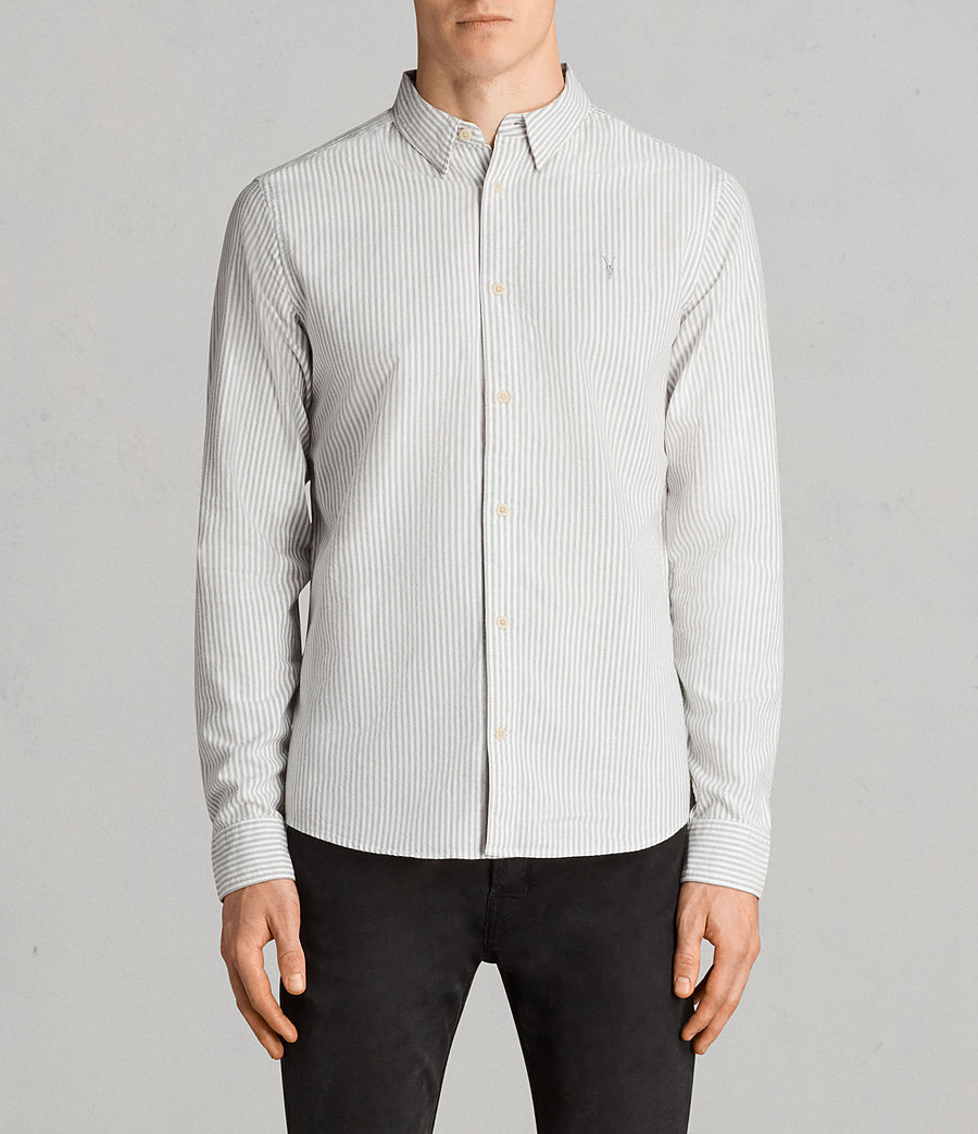 Mens Berwick Shirt (grey_white) - Image 1