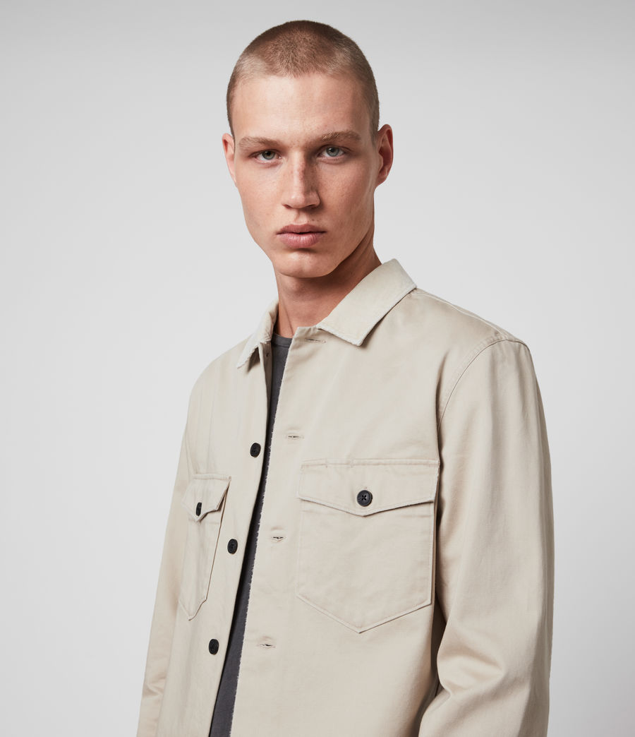 Mens Lancer Shirt (fossil_taupe) - Image 1