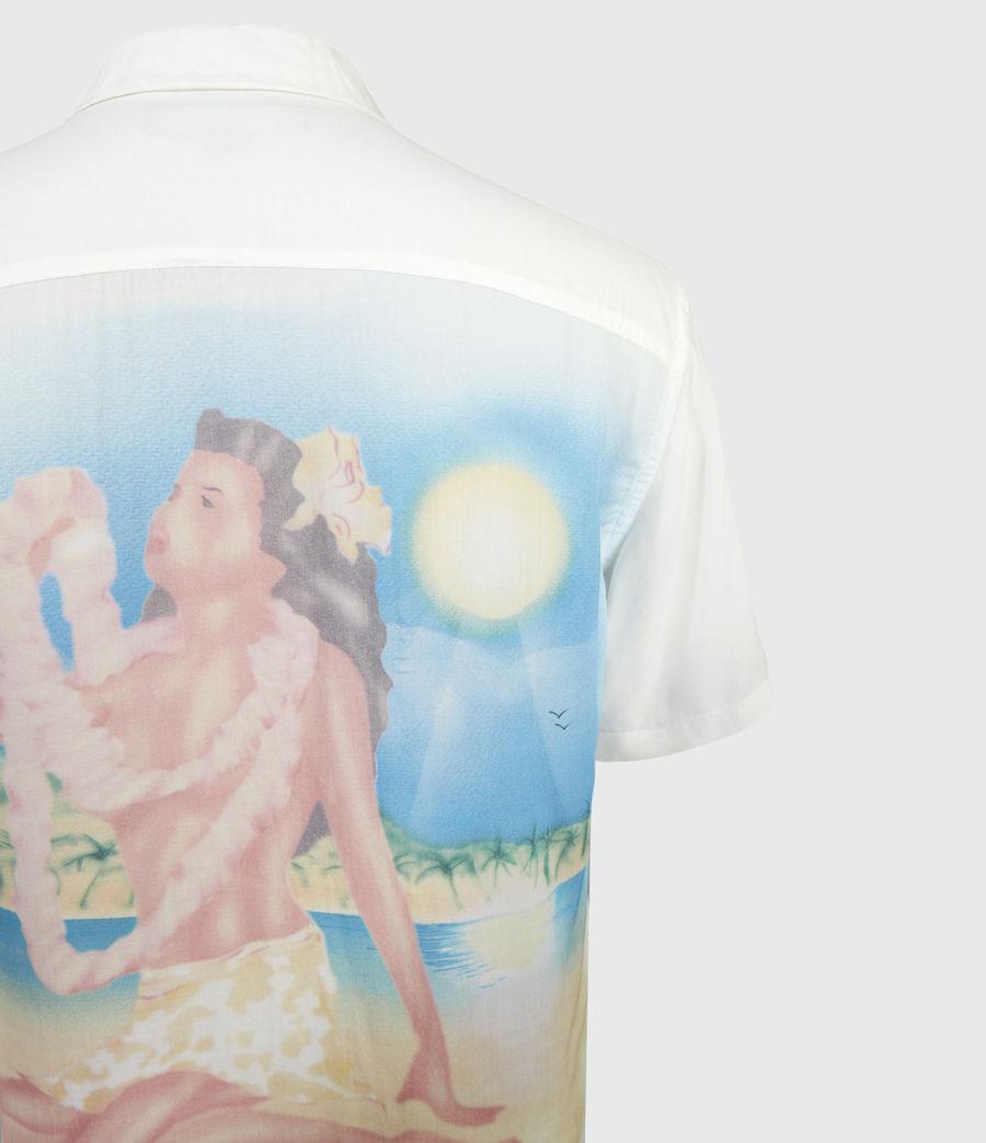 Herren Wahine Shirt (ecru) - Image 3