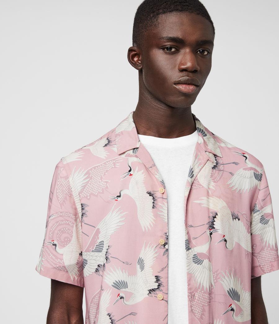 Hombre Tsuru Shirt (blossom_pink) - Image 1
